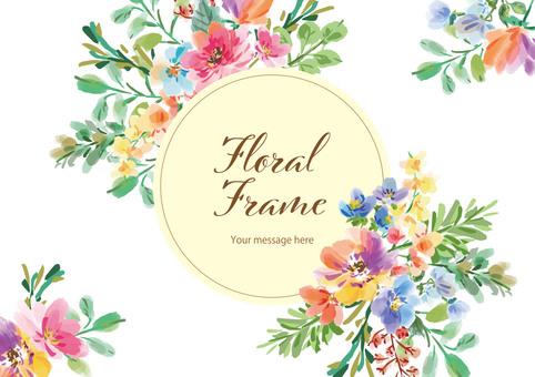 Floral frame2
