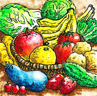 Vegetables · Fruits