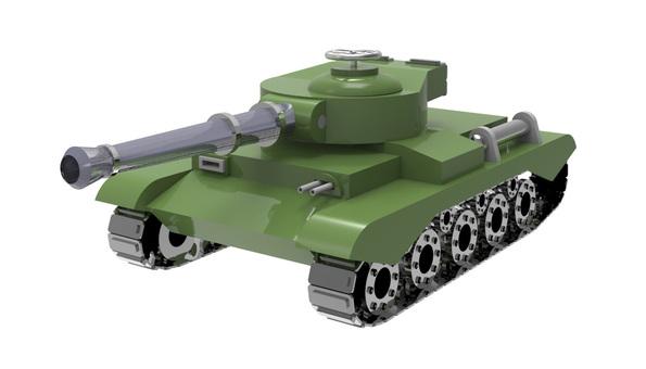3D - tank