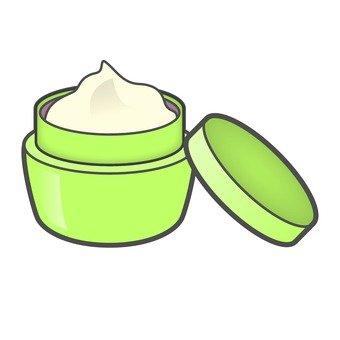 Cream _ green