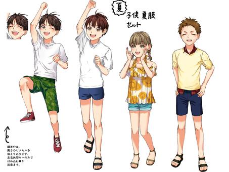 Summer clothes children's set