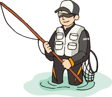 Angler (river · sweetfish)