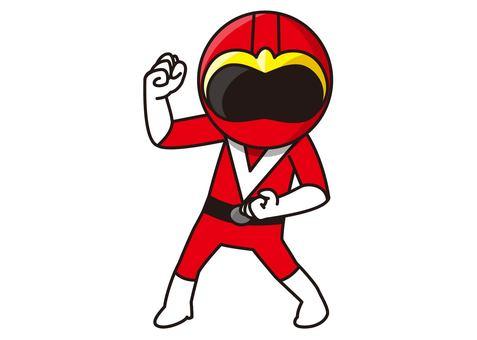 Red Ranger - Stance