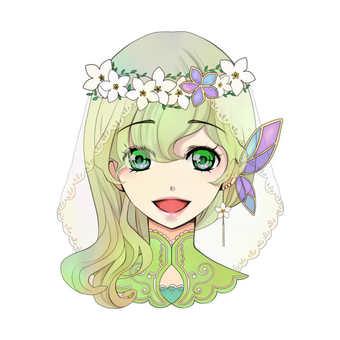 Girl icon D