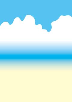 여름의 하늘