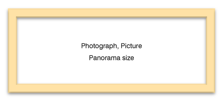 Panorama Frame Natural