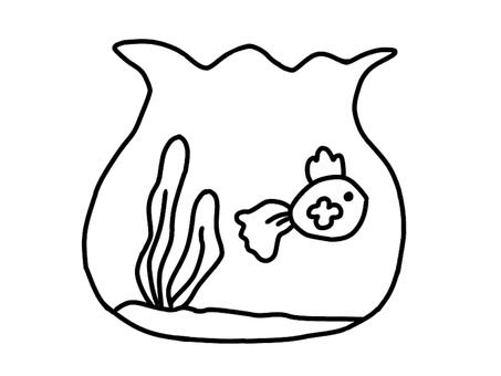 Goldfish and a fish bowl 1 1