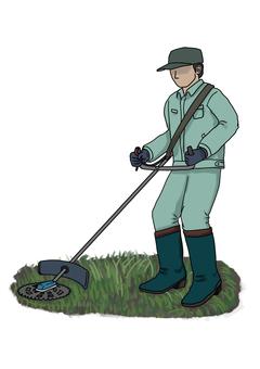 Mowing illustration 001