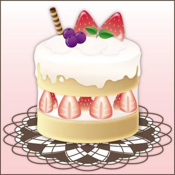 Cake (pink)