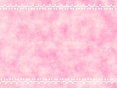 벚꽃 종이 배경