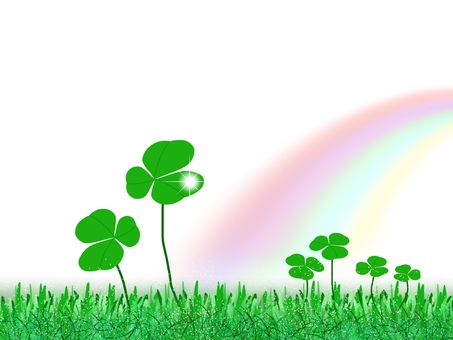 Rainbow and Clover