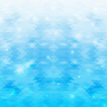 Triangle mosaic background-blue