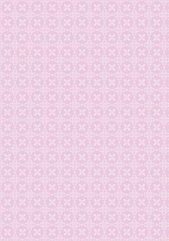 Pink winter pattern