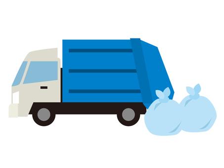 Z024_ garbage truck