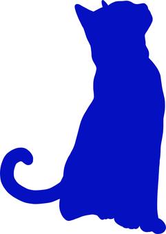 Cat Cat silhouette 5