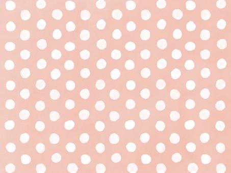 水彩ドット 背景桃色