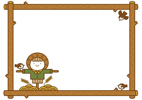 稻草人框架