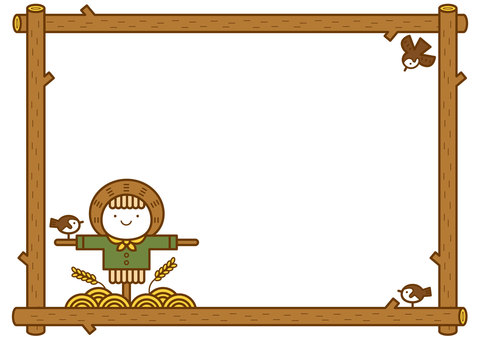 Scarecrow frame