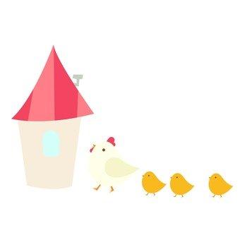 移動 - 雞的朝家走戶