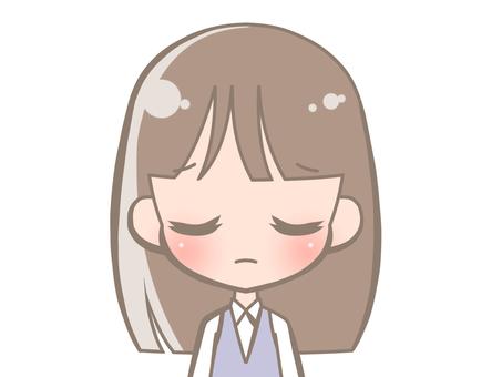 OL - Facial expression - sad 190112