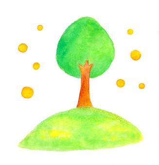 A gentle tree