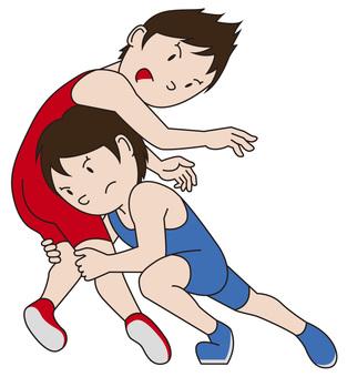 Wrestling boys 1