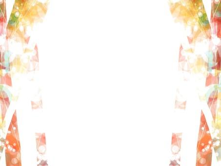 Orange effect frame