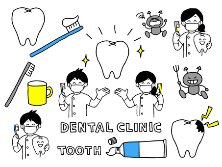 歯医者セット(シンプル)