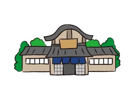 Loose hot spring inn (no character)