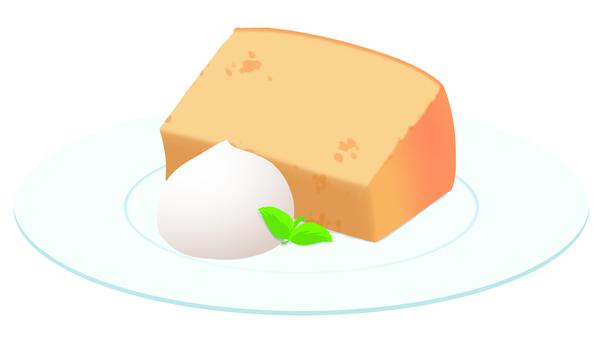 Chiffon cake 001