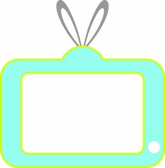 No TV legs ☆ light blue