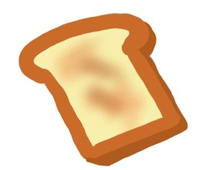 我煮了美味的麵包。