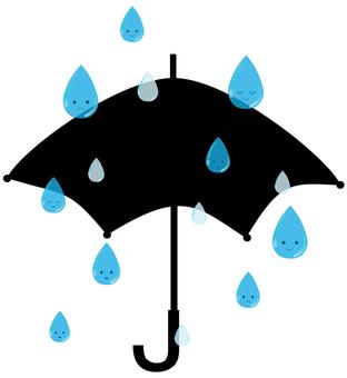 물방울 우산