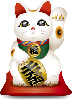 Lucky cat (left hand) 2