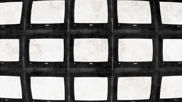 Stacked TV background