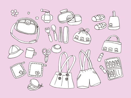 Entry Goods (Line drawing)