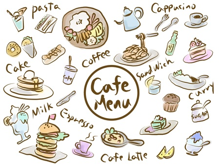 Cafe Menu color