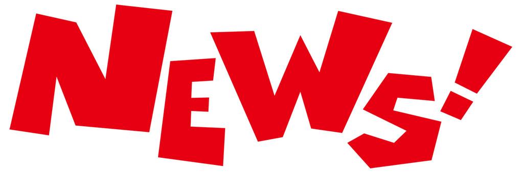 NEWS ☆ News ☆ English letter icon ☆
