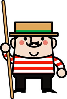 Uncle fairy gondola head