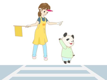 Event - Traffic Instruction - Crosswalk