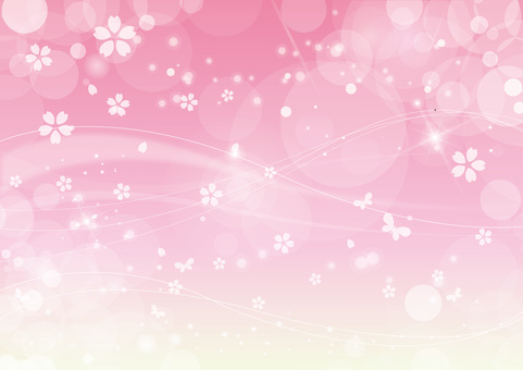 Sakura Background Glitter