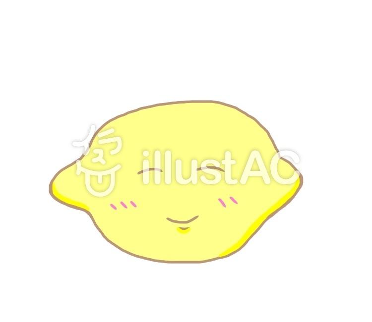 可愛いレモンちゃんイラスト No 558130無料イラストならイラストac