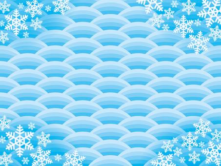 Pattern (51) Winter snowflake