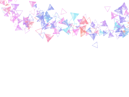 Triangle background colorful
