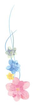 수국 꽃 장식