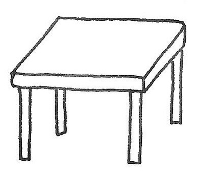Desk table dining table