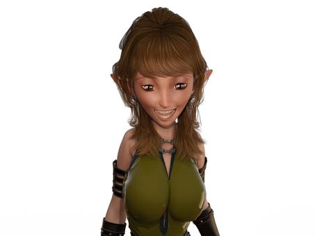 とてもいい笑顔の妖精のお姉さん