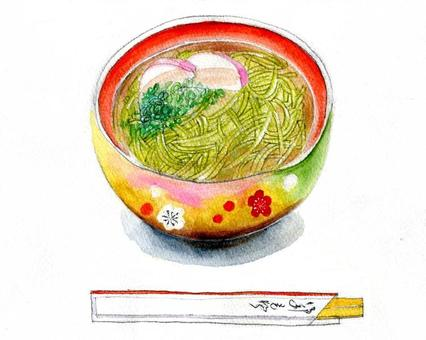 Taste of the four seasons Toshikoshi soba