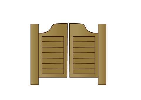 Western door