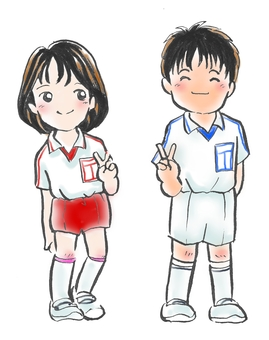 Heisei gym uniform from the Showa era Showa 50's ~ Heisei